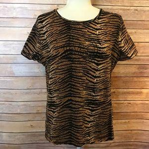 Michael Kors animal print T-shirt